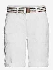 Esprit Casual - Shorts woven - bermudas - white - 2