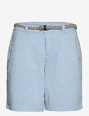 Esprit Casual - Shorts woven - chino shorts - light blue - 0
