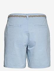 Esprit Casual - Shorts woven - chino shorts - light blue - 1
