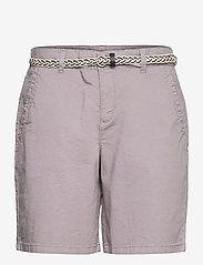Esprit Casual - Shorts woven - chino shorts - light grey - 0