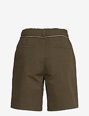 Esprit Casual - Shorts woven - chino shorts - khaki green - 1