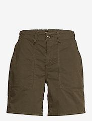 Esprit Casual - Shorts woven - chino shorts - khaki green - 2