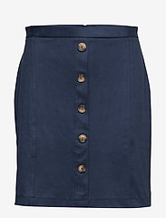 Esprit Casual - Skirts knitted - midi skirts - navy - 0