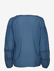 Esprit Casual - Blouses woven - langærmede bluser - grey blue - 1