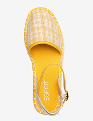 Esprit Casual - Casual Shoes textile - platta espadriller - sunflower yellow - 3