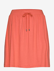 Esprit Casual - Skirts knitted - short skirts - coral - 0