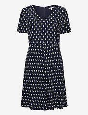 Esprit Casual - Dresses light woven - korte kjoler - navy 4 - 0