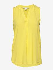 Esprit Casual - Blouses woven - Ærmeløse bluser - bright yellow - 0