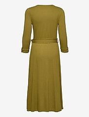 Esprit Casual - Dresses knitted - slå-om-kjoler - olive - 1