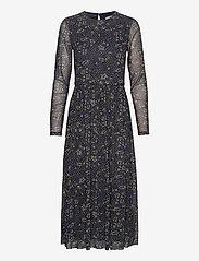 Esprit Casual - Dresses knitted - midi kjoler - navy 4 - 0