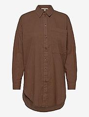 Esprit Casual - Blouses woven - langermede skjorter - rust brown - 1