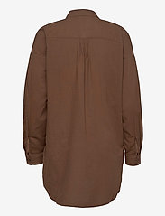 Esprit Casual - Blouses woven - langermede skjorter - rust brown - 2