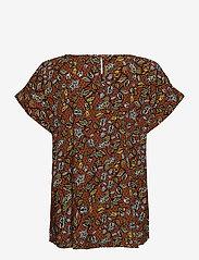 Esprit Casual - Blouses woven - kortermede bluser - rust brown 4 - 1