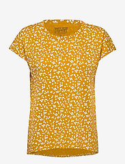 Esprit Casual - T-Shirts - t-shirts - brass yellow - 0
