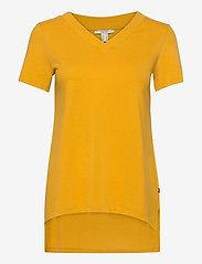Esprit Casual - T-Shirts - t-shirts - brass yellow 4 - 0