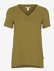 Esprit Casual - T-Shirts - t-shirts - olive 4 - 0