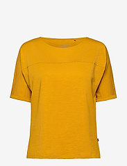 Esprit Casual - T-Shirts - t-shirts - brass yellow 4 - 0