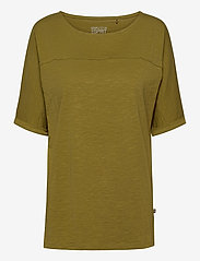 Esprit Casual - T-Shirts - t-shirts - olive - 0