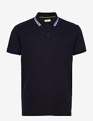 Esprit Casual - Polo shirts - basic t-shirts - navy - 0