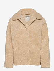 Esprit Casual - Jackets indoor woven - faux fur - cream beige - 0