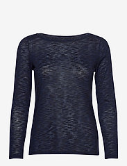 Esprit Casual - T-Shirts - long-sleeved tops - navy - 0