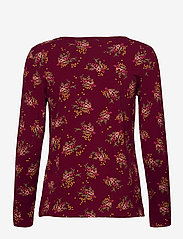 Esprit Casual - T-Shirts - long-sleeved tops - bordeaux red - 1