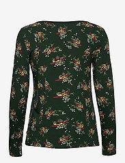 Esprit Casual - T-Shirts - long-sleeved tops - dark green - 1