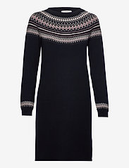 Esprit Casual - Dresses flat knitted - navy 4 - 0