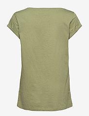 Esprit Casual - T-Shirts - t-shirts - light khaki - 1