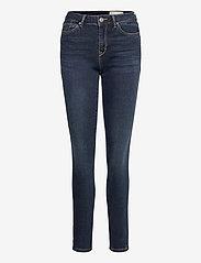 Esprit Casual - Pants denim - skinny jeans - blue dark wash - 0