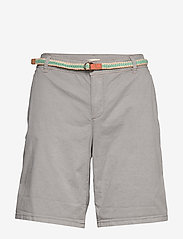 Esprit Casual - Shorts woven - chino shorts - light grey - 2