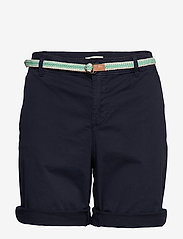 Esprit Casual - Shorts woven - chino shorts - navy - 0