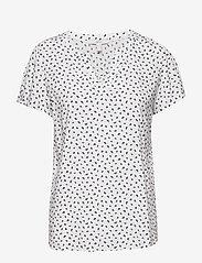 Esprit Casual - Blouses woven - kortermede bluser - off white - 0