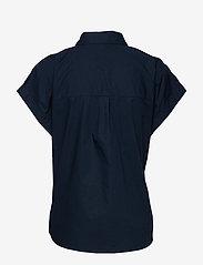 Esprit Casual - Blouses woven - overhemden met korte mouwen - navy - 1