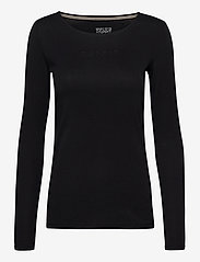 Esprit Casual - T-Shirts - t-shirt & tops - black - 0