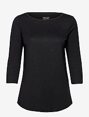 Esprit Casual - T-Shirts - long-sleeved tops - black - 0