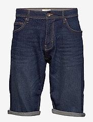 Esprit Casual - Shorts denim - denim shorts - blue dark wash - 0