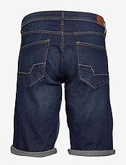 Esprit Casual - Shorts denim - denim shorts - blue dark wash - 1