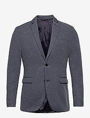 Esprit Casual - Blazers knitted - kavajer - grey blue 5 - 0