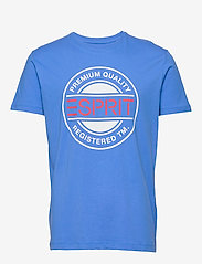 Esprit Casual - T-Shirts - short-sleeved t-shirts - bright blue - 0