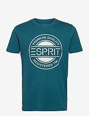 Esprit Casual - T-Shirts - short-sleeved t-shirts - petrol blue - 0