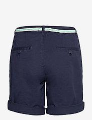 Esprit Casual - Shorts woven - chino shorts - navy - 1