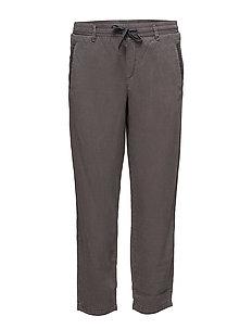 Pants woven - GUNMETAL