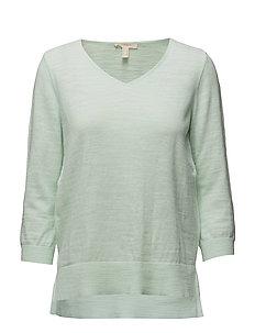 Sweaters - LIGHT AQUA GREEN