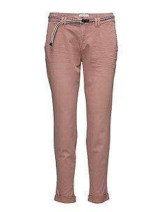 Pants woven - DARK OLD PINK