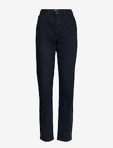 Pants woven - straight jeans - navy