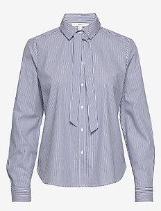 Blouses woven - koszule z długimi rękawami - navy