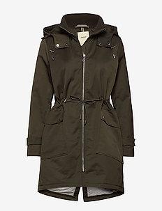 Coats woven - parkacoats - dark khaki