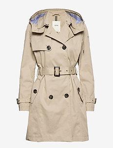 Coats woven - trench coats - beige