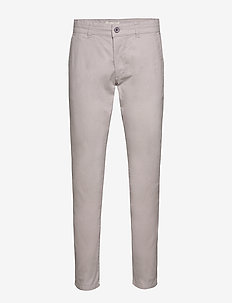 Pants woven - chino's - light grey